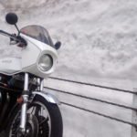Z1-R。結構圧巻ですぜ、雪の壁