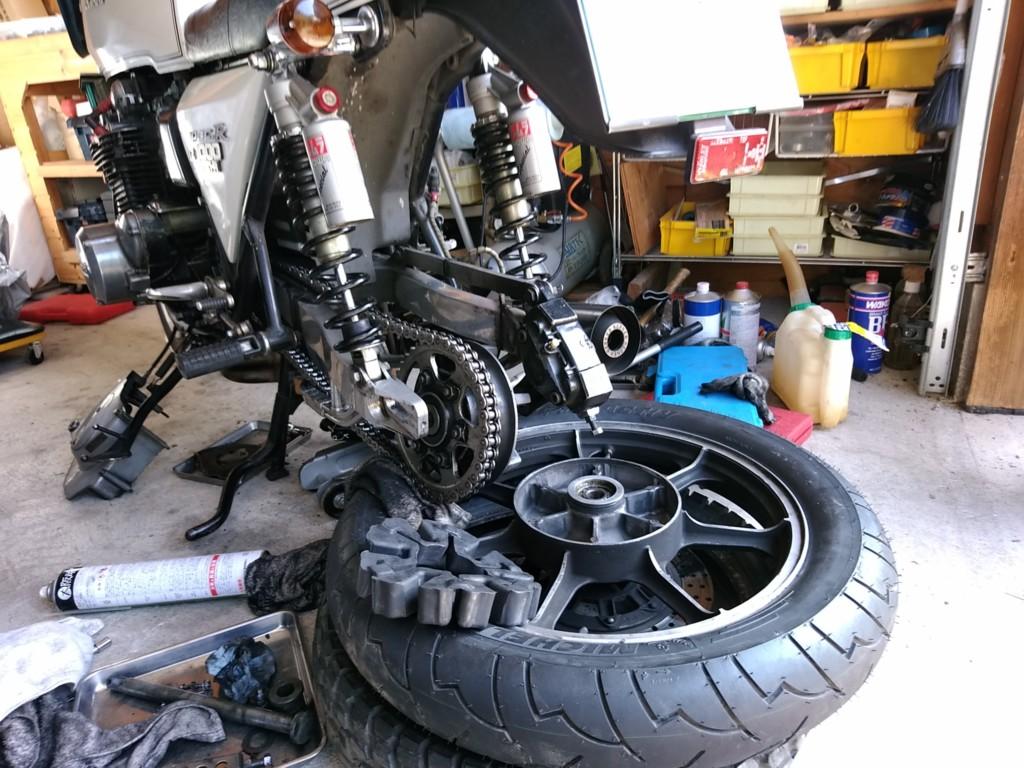 古いバイクも自分で直せば維持費も余裕