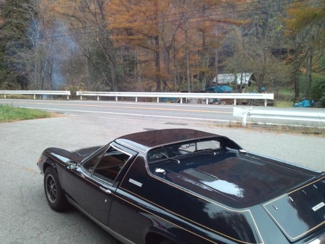 ロータスヨーロッパ。峠で遊ぶのは本当に面白い車です。