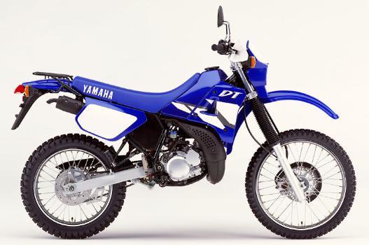 国産2st125ccでは最後となったモデルがDT125R