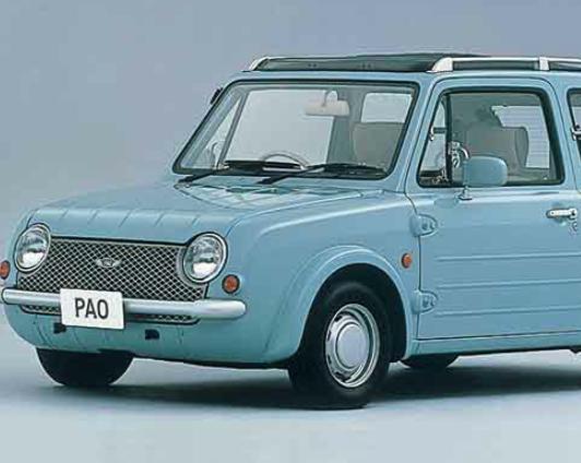 多分PAOが最後の三角窓装備車だと思う。
