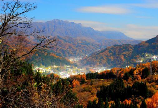 春からずっといい景色ですが秋は格別