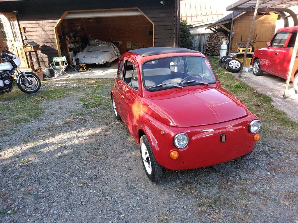 旧車は洗車できないのですよ。旧FIAT500は汚くてもらしいですけどね。