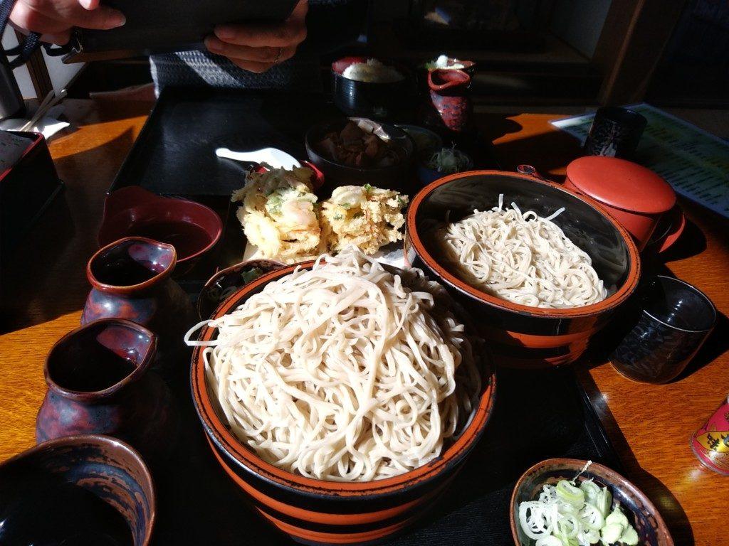 東信地区の蕎麦は大体多い