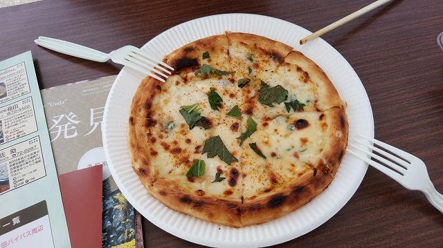 このピザ、ほんとにうまかった