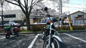 これくらい空いているバイクの駐輪スペース