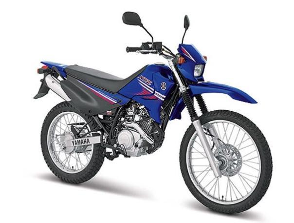 XTZ125。ちょっとほしいくらいいいバイクです。