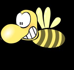 一部デフォルメした画像でお送りするスズメバチ