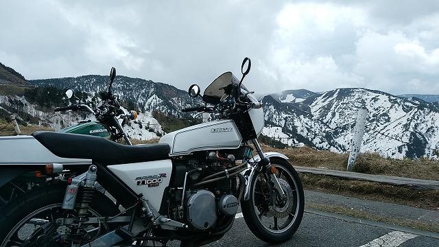 Z1-R。まだ雪が残ってる山にはあんまり出かけない方がいいです。