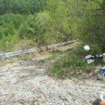 DT200WR。林道遊びは自然といい運動になるんですよ、これがまた。