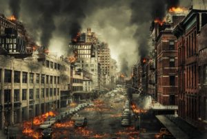 都市部は直下型地震が来たらこうなるのでは?