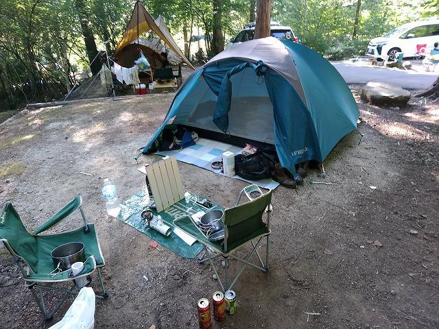 これでもかなりキャンプ道具が充実したのだよ、実は。