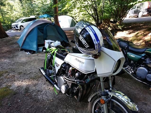 どこも混んでる最近のキャンプ場。