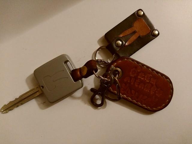 ラパンSS用のキーホルダー