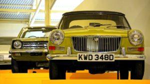 小型英国車は維持が比較的楽♪