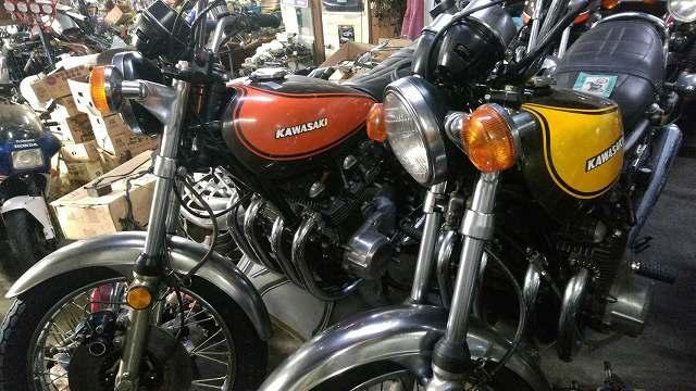 バイク屋でもこんなのめってに見れません。