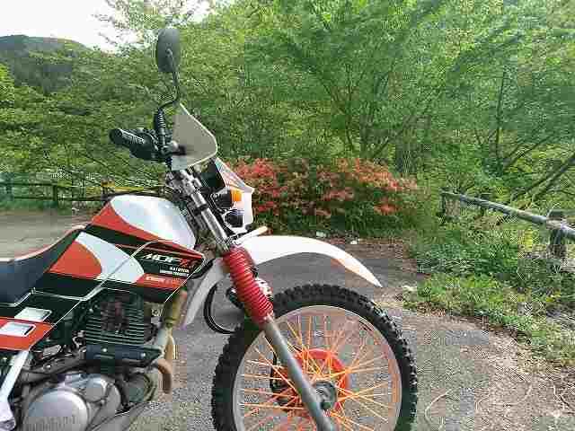 セロー225Wはほんとにいいバイクですよ。