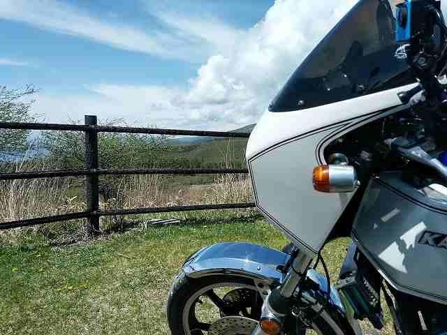 Z1-R。長野にはこういう景色がいいところが馬に食わせるくらいあるのです。
