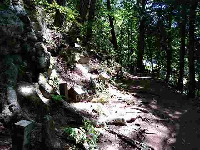 散策順路には石仏と木仏が大量にあります。