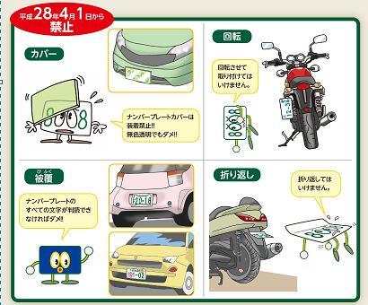 バイクは目立つのでガンガン取り締まられるはず。