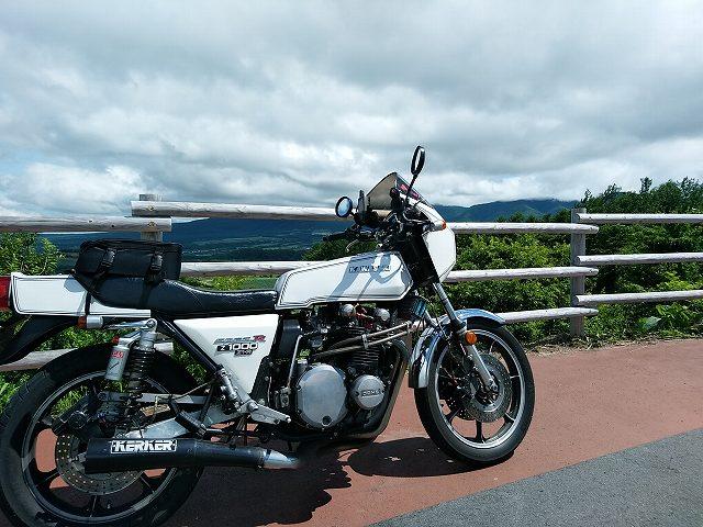 Z1-R。中古バイク雑誌を見るとえらい値段がついててビビる。