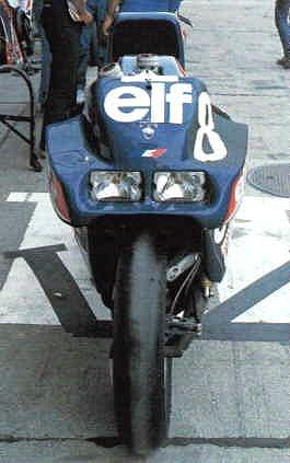 真直ぐは知らなそうなバイクの代表。elfプロジェクト。