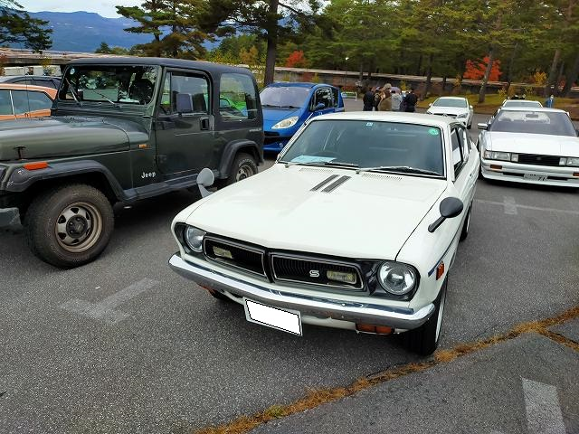 サニー・エクセレント。こういう大衆車の維持も難しいんだよね、日本車って。