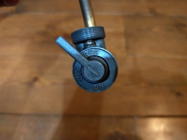 Z1-Rのガソリンコック。