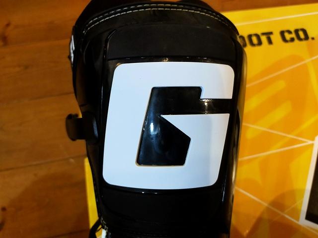 この「G」マークがガンダムファンにはたまらない。