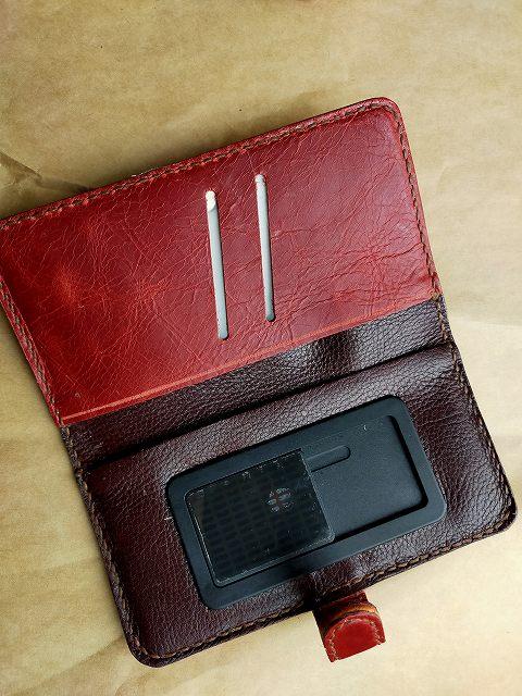 嫁用の携帯カバー。
