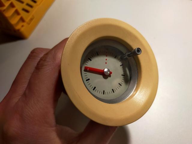 ラパンの純正時計。