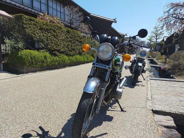 Z750D1。古いバイクでもメカノイズは少ない方がいいよねえ。
