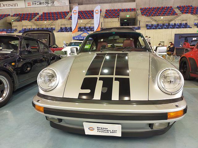 Porsche 911。このデカールデザインがたまりません。