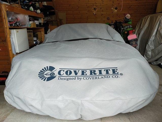 COVERITEのカバーをかけてるのは大抵変な車です。