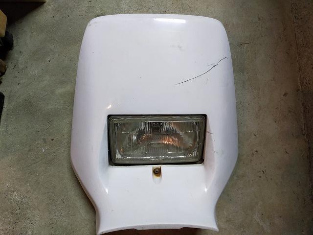 DT200WR。予備のライトバイザー