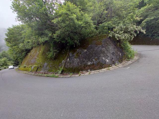 この傾斜がすごい。